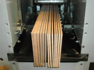 "Our standard veneer thickness is 3/16"". As you can see, our veneers are sawn not sliced."