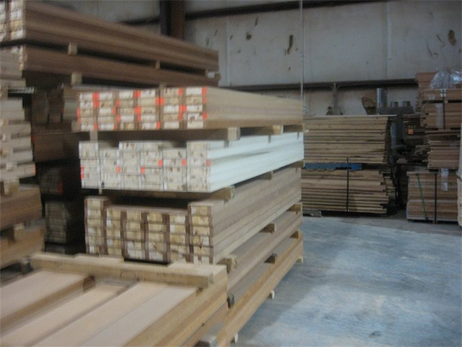 Quality Engineered Wood Door Stiles Rails Stave Core And
