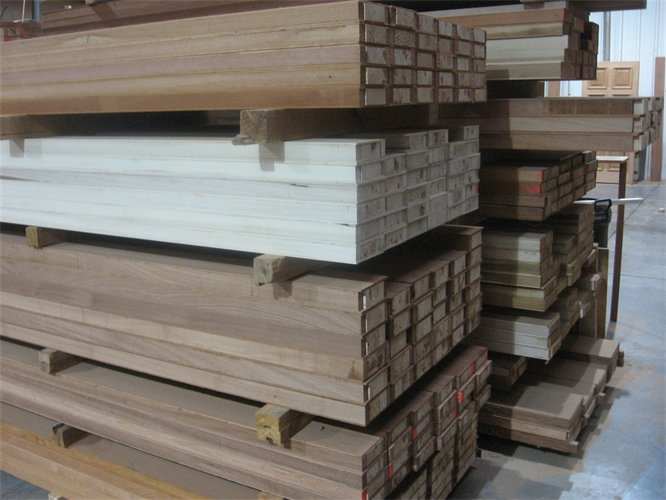 "Looking for a supplier of a ""stock size"" engineered wood door stiles and rails? We can set up a program to meet the needs of even the most discriminating clients. If you are looking to build stock doors, we can inventory stiles that meet your needs and shorten your lead times. Let us customize an engineered stile program for you."