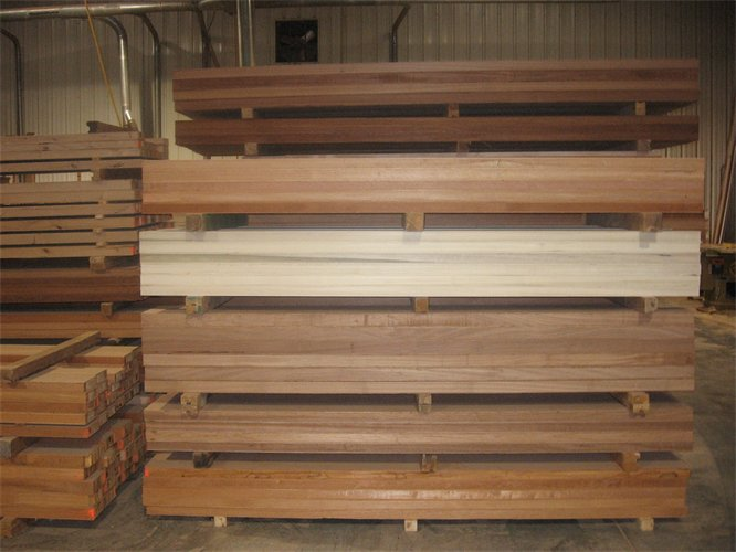 "Inventory of our repeat customers' ""stock stiles."" Our clients also use the stave core to build custom windows and other millwork. Let Creative Woodwork provide you with high quality stiles and rails to meet all of your stave core needs."